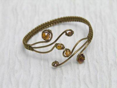 antique-bronze-sparkle-bangle