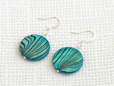 cyan-swirl-earrings