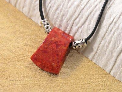 sponge-coral-axe-pendant