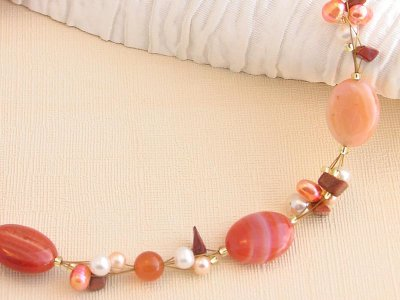 orange-clusters-necklace