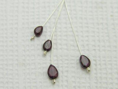 garnet-pear-drop-earrings